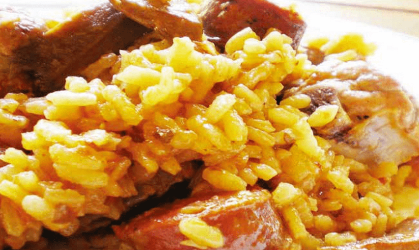 Rice and Pork (Arroz con Puerco)