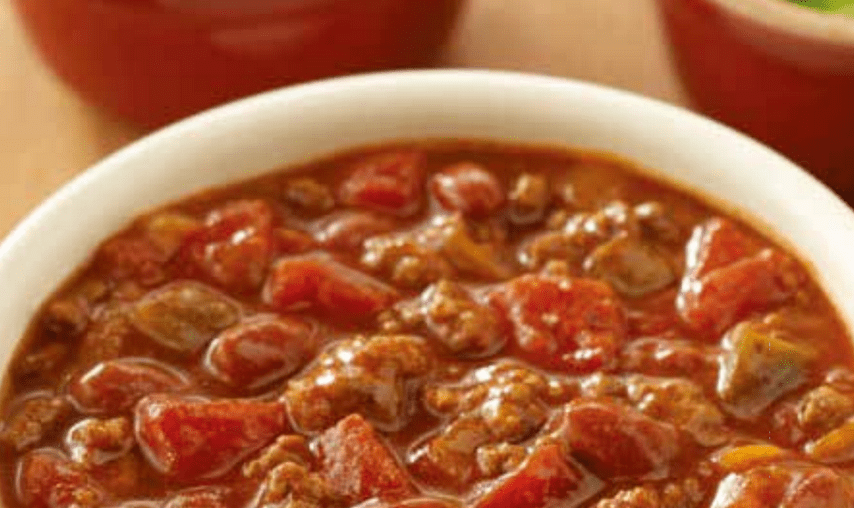 Chili with Ground Meat